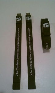 "Image of Vagabonds ""Now or Never"" Tour USB Wristbands"