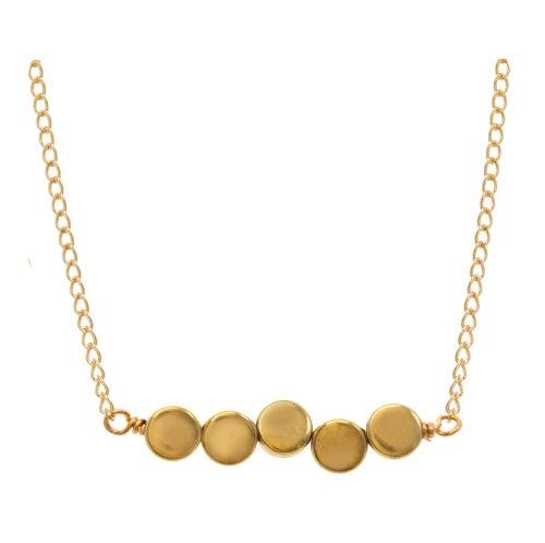 Image of BRASS DOT necklace