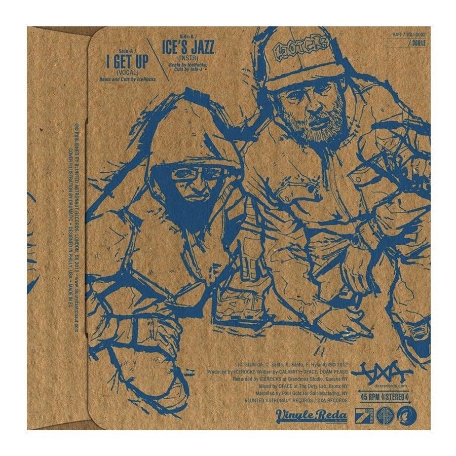 "Image of DXA - 'I Get Up' / 'Ice's Jazz' // 7"""