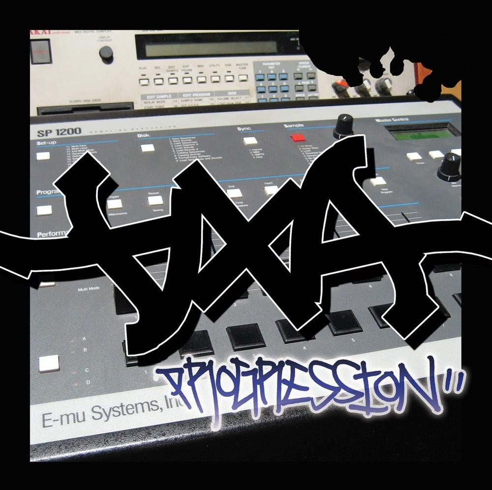Image of DXA - Progression Instrumentals // MP3 Download