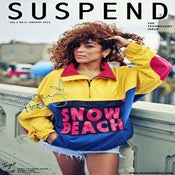 "Image of SUSPEND MAGAZINE x STACEY HASH, NO. 01 ""SNOW BEACH"" POSTER"