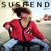 "Image of SUSPEND MAGAZINE x STACEY HASH, NO. 02 ""ROSEWOOD"" POSTER"