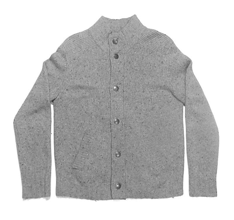 Greater Goods & Co. — Button Front Wool Sweater