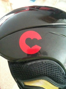 Image of Helmet Sticker