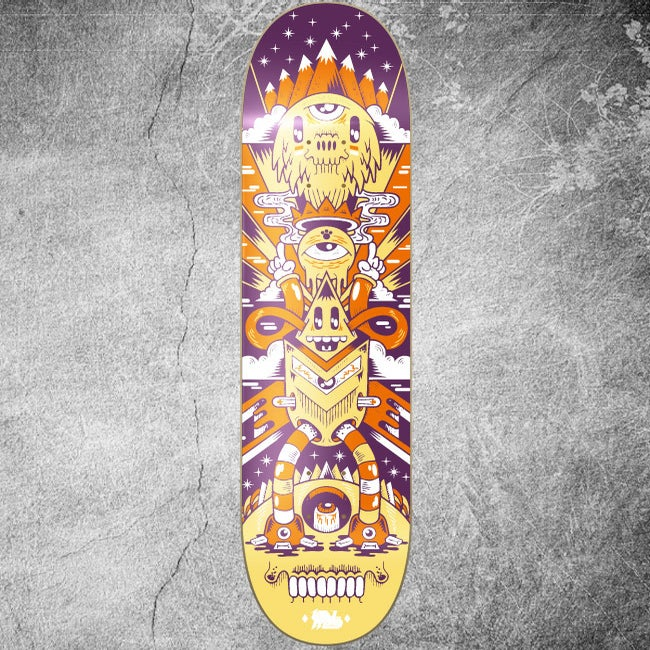 Image of SPACE TOTEM SKATE