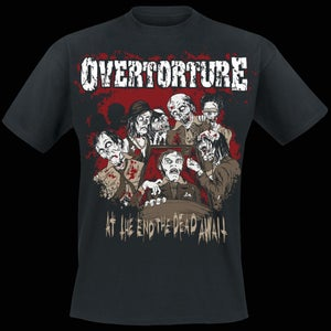 Image of At the End the Dead Await - T-Shirt
