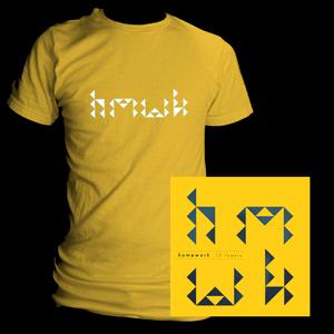 Image of 13 Towers Digipak & Yellow T-Shirt