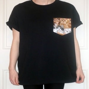 Image of Cats Pocket Tee