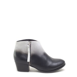 Image of Miista Kia Black and White Ombre Ankle Boot