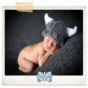 Image of Newborn Viking Hat