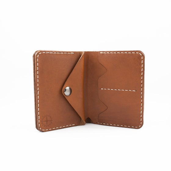 Image of Biker leather wallet