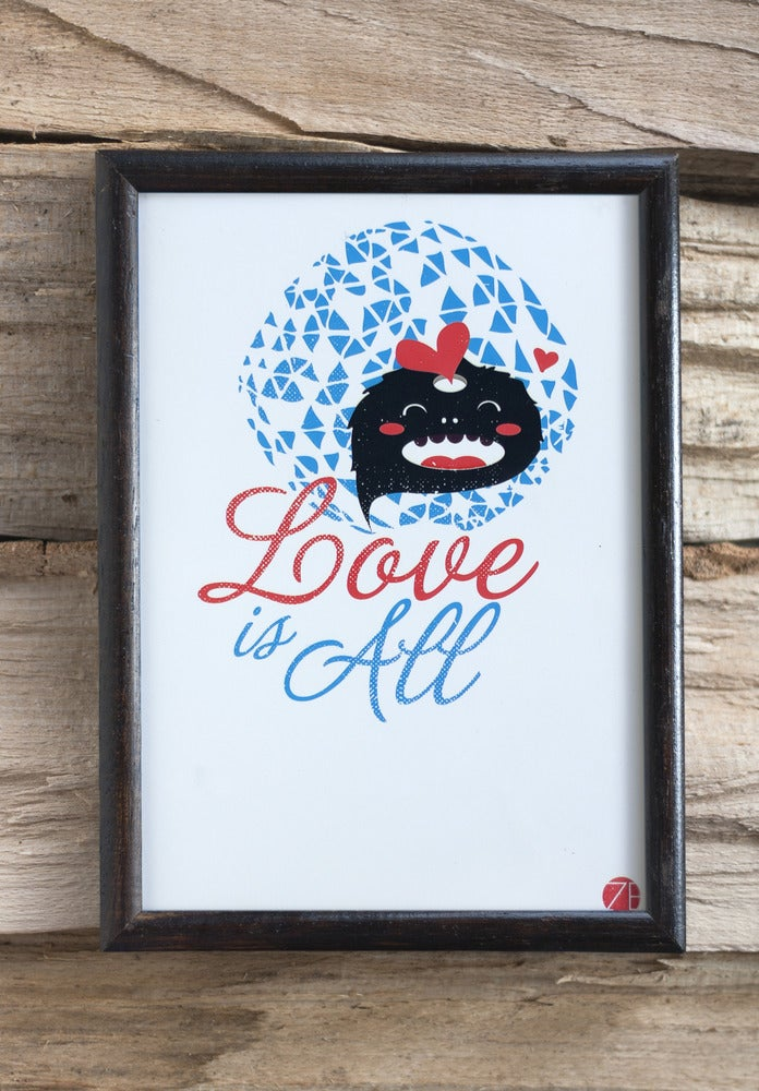 Image of Love is all