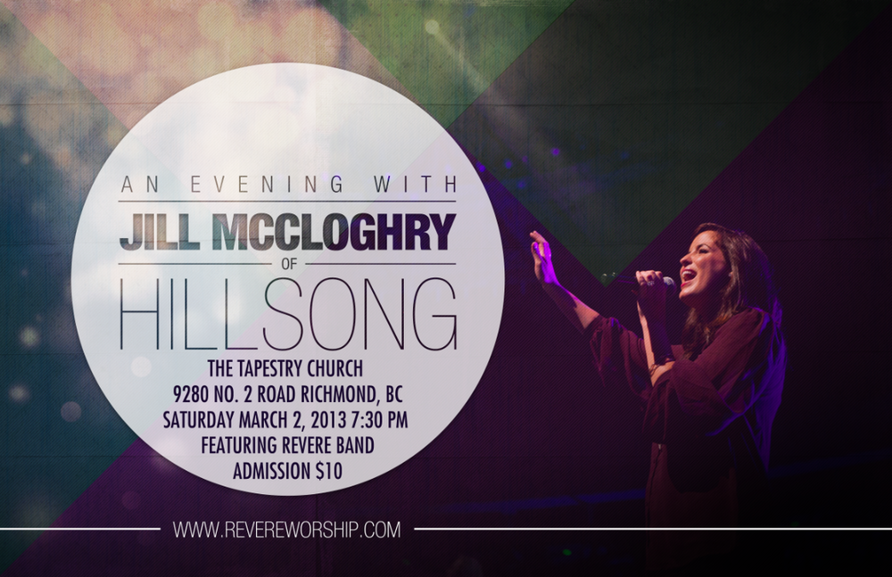 Image of Jill McCloghry of Hillsong with Special Guest Jodi King
