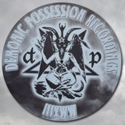 Image of DEMONMAT - Demonic Possession 'Baph-o-mat' Slipmats (pair)