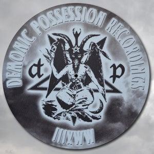 Image of DEMONMAT - Demonic Possession 'Baph-o-mat' Slipmats (pair)
