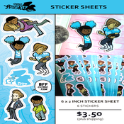 Image of STICKER SHEET