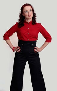 Image of Extreme high waist trousers