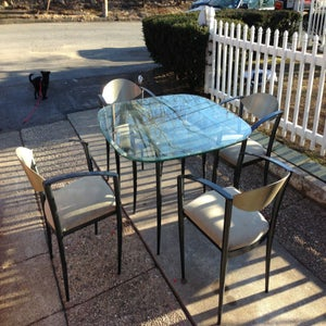 Image of Retro Table & Chairs