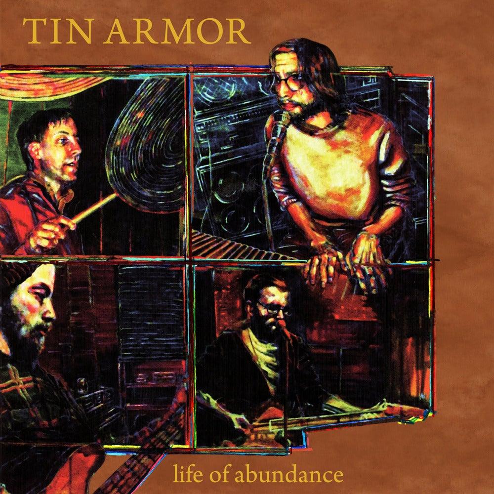 "Image of Tin Armor ""Life of Abundance"" LP"