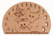 Image of Happy Family Knitting Needle Gauge