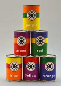Image of Six Cans of Authentic Contemporary Art