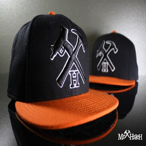 Image of Mr. Hsieh Logo Fitted Cap - SF Colorway