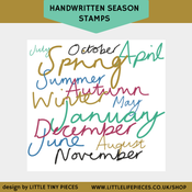 Image of Handwritten Season Brushes
