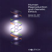 Image of Human Reproduction and Genetic Ethics Vol.17.1 2011
