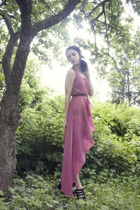 Image of In love with fashion asymmetric dress