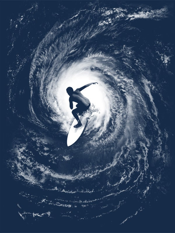 Image of Category 5 silkscreened poster