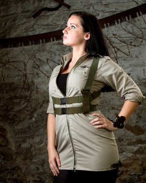 Image of SH04 [DROP ZONE] Reconstructed Military Dress/Tunic with Flight Harness