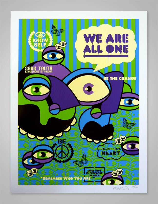 Image of We Are All One - Limited Edition Print