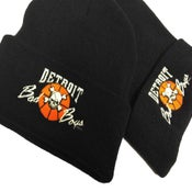 Image of Retro Detroit Bad Boys Detroit Pistons Beanie Toque Winter cap