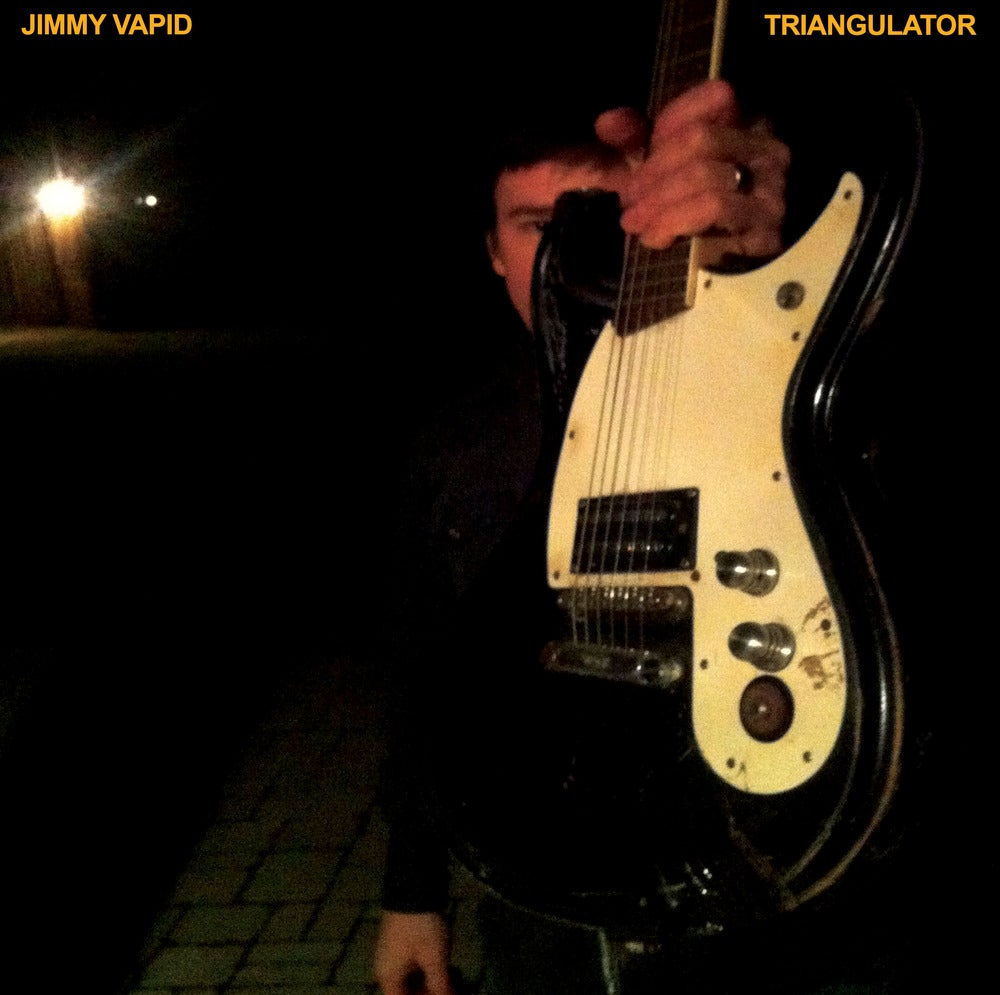 "Image of Jimmy Vapid ""Triangulator"" 7"" OUT NOW!"