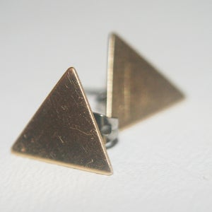 Image of Triangle Earrings