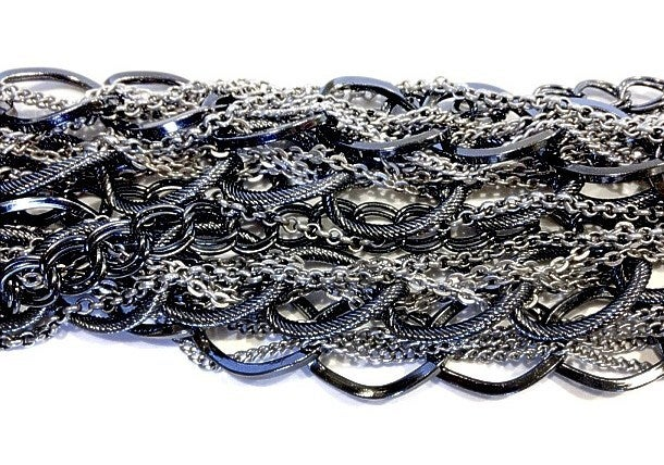 Image of Multi Chain Necklace as seen on Laura Cunningham #Girlfri3nds