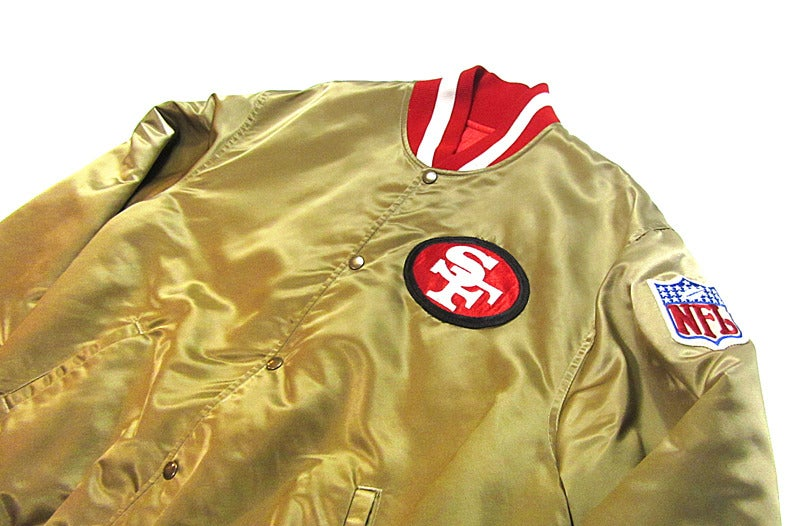49ers Gold Jacket