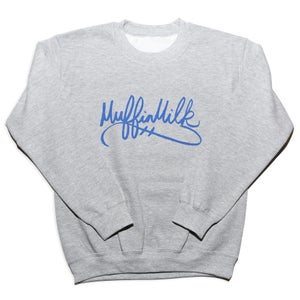 Image of The Signature Crewneck (Blue/Grey)