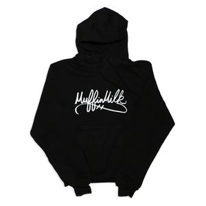 Image of The Signature Pullover Hoodie (White/Black)