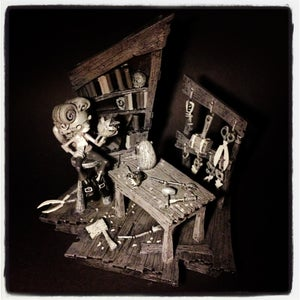 Image of Gris Grimly's Pinocchio - Geppetto's Workshop - mono
