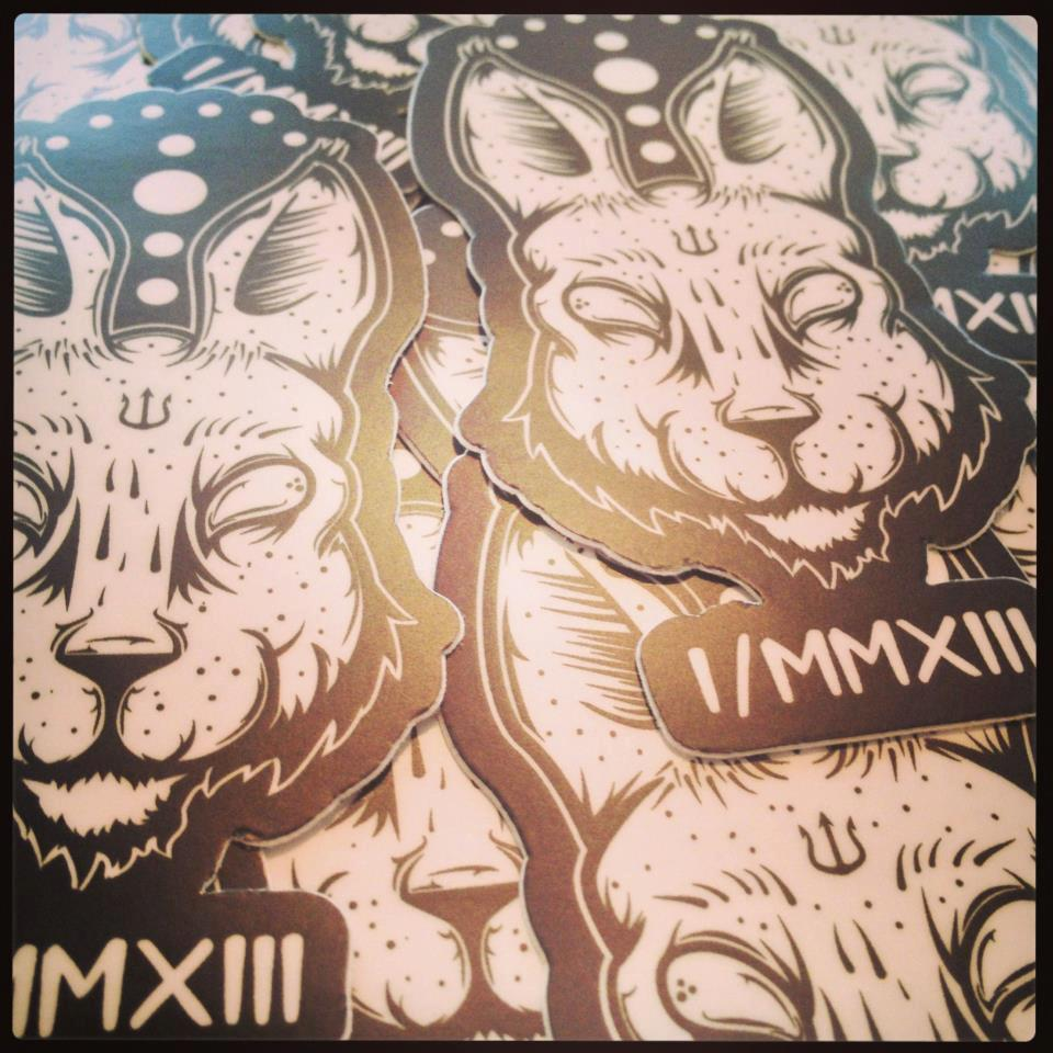 """Image of """"Redux"""" Limited Edition Sticker"""