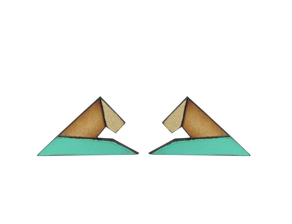 Image of Pyramid °teal