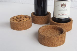 Image of Plateau wine coasters