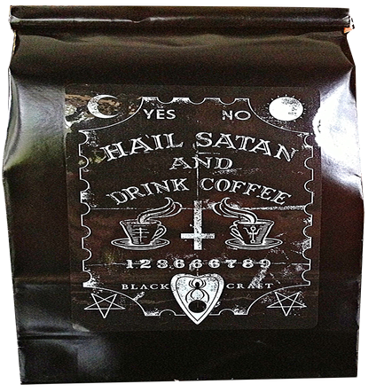 Image of Hail Satan And Drink Coffee - Coffee 1lb