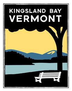 Image of Kingsland Bay Vermont Print