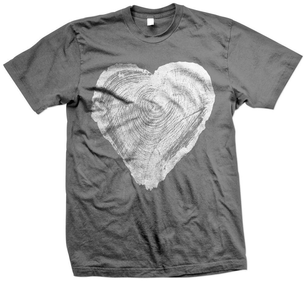 Image of Wooden Heart tee