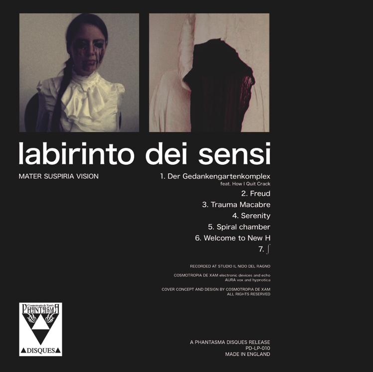 Image of [2ND EDITION] COLOR VINYL LP - MATER SUSPIRIA VISION - SERENITY (2013)