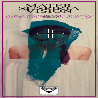 Image of [2ND EDITION] COLOR VINYL LP - MATER SUSPIRIA VISION - SERENITY (2013)