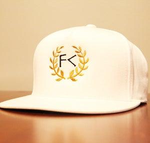 Image of White Snapback Hat