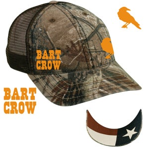 Image of Bart Crow Camo Hat